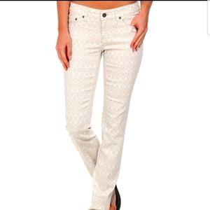PrAna Kara Straight Leg Organic Jeans Size 10